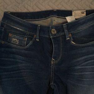 G-star 3301 blue jeans size 27